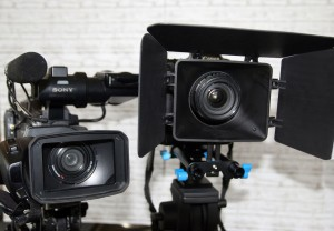 Professionelles Equipment mit HD